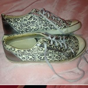 Coach shoes animal print